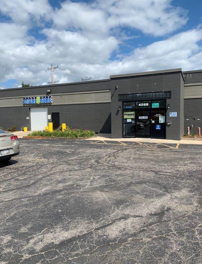Store Here Self Storage Milwaukee Facility Exterior