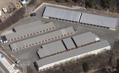 Kingston Self Storage Aerial View