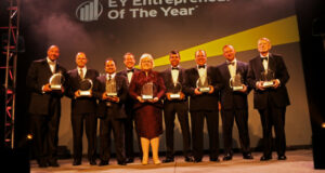 winners of the 2015 entrepreneur of the year award