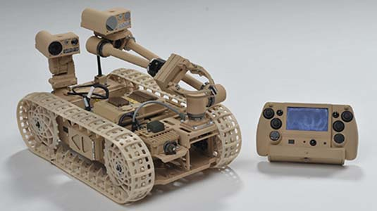 VectorNav supplies IMU for military bomb-disposal robot