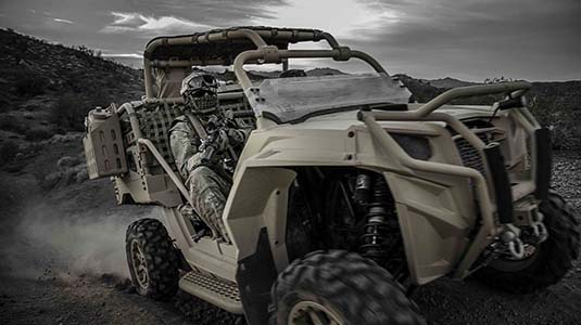 AUSA 2017: This military ATV can 'think' and drive itself