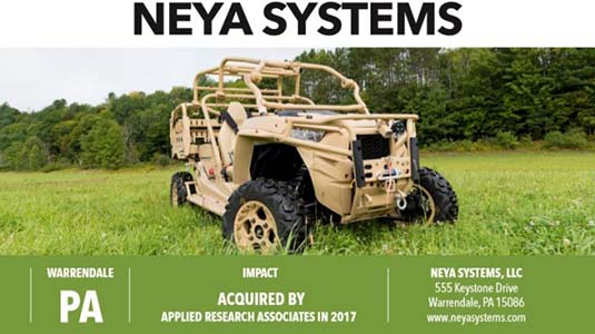 SBIR-STTR-Success: NEYA SYSTEMS