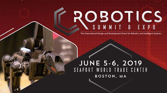 Don't miss these sessions at the Robotics Summit & Expo 2019