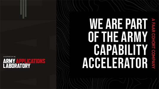 Neya Systems selected for first Army Capability Accelerator cohort program