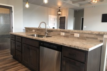 1420 N Rose Kitchen Island Sink