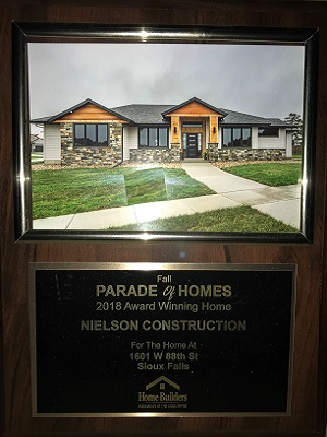 2018 Fall Parade of Homes Award Winner 1601 W 88th St