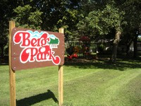 Picture of the Berg Park sign