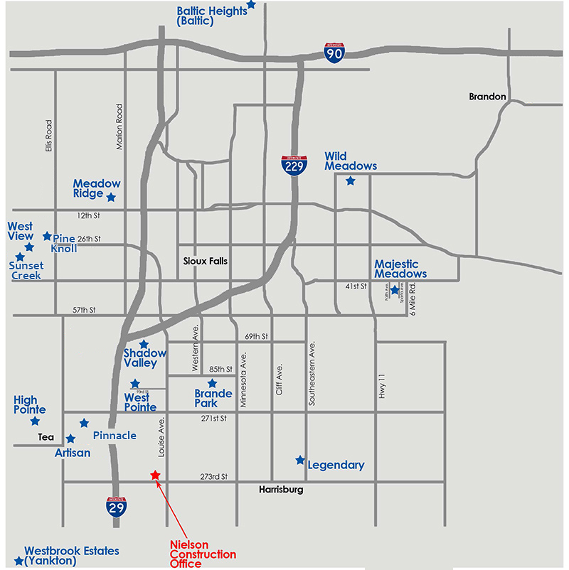 Lots for Sale in Sioux Falls Area.