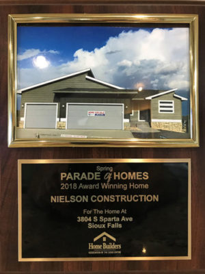 2018 Spring Parade of Homes Award Winner 3804 South Sparta Avenue