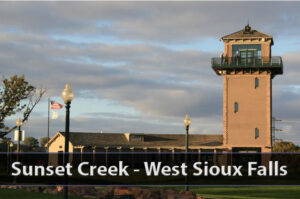 Sunset Creek Estates in West Sioux Falls.