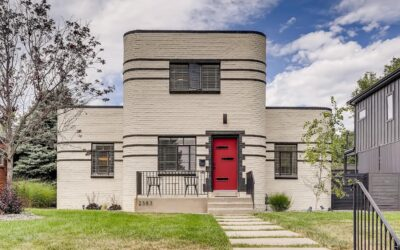 SOLD: Iconic Art Deco Home in Park Hill