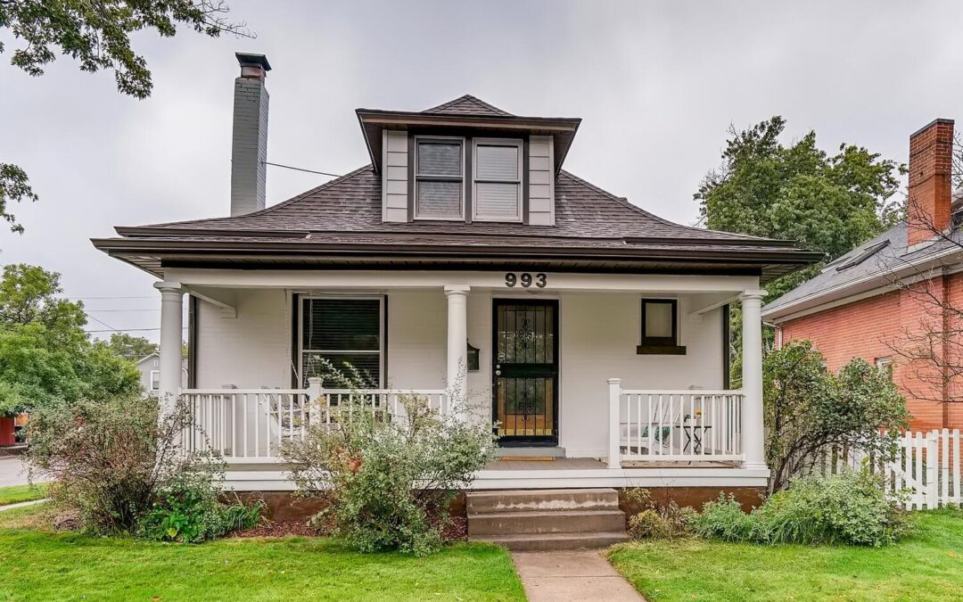 SOLD: Vintage Farmhouse Style Home in Wash Park