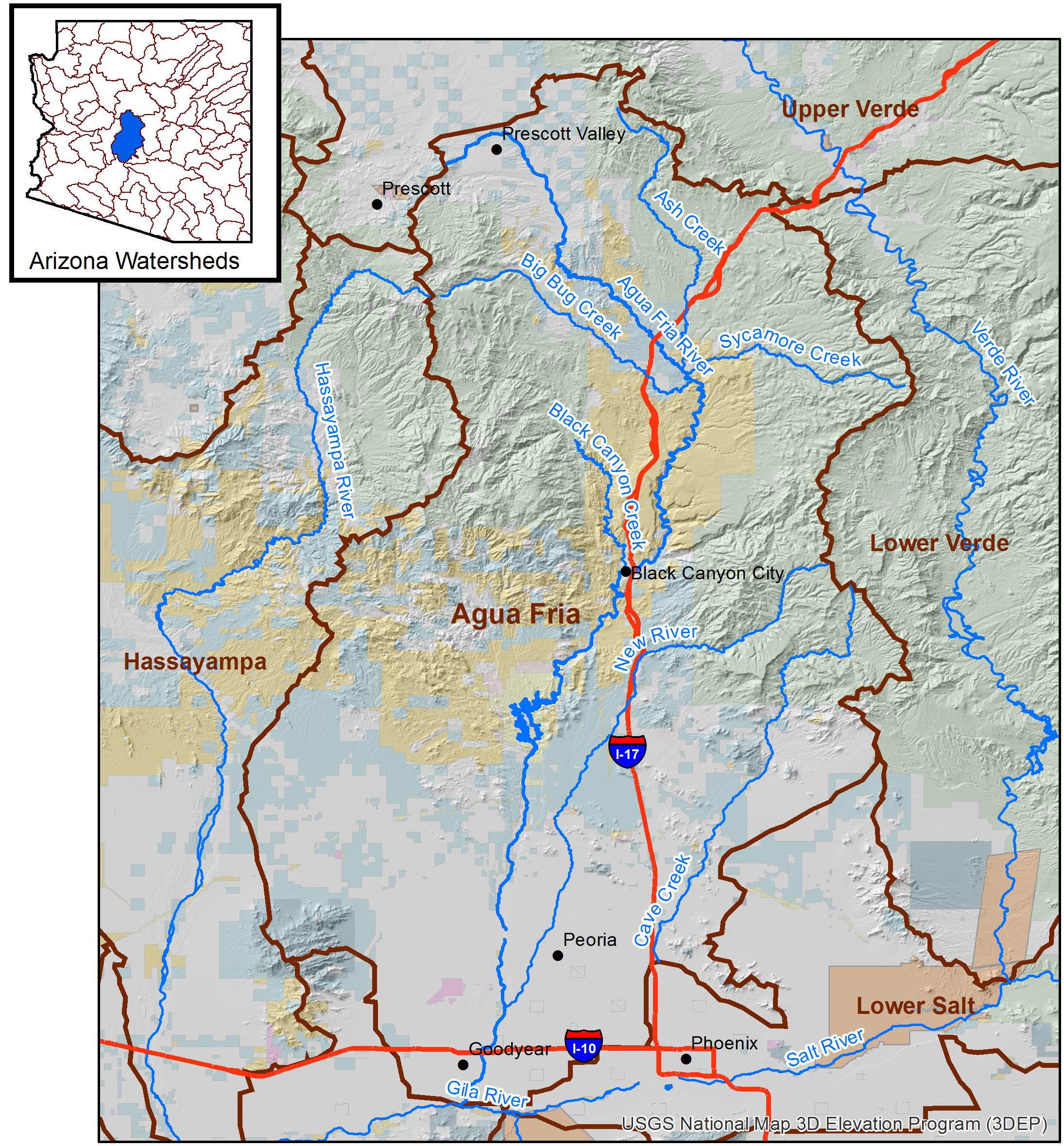 Agua Fria Watershed