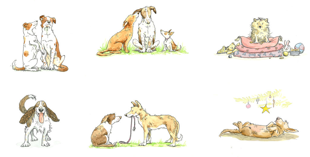 images of dogs by Anita Jeram