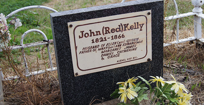 John (Red) Kelly Headstone