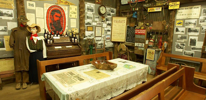 Blacksmith Shop Interior