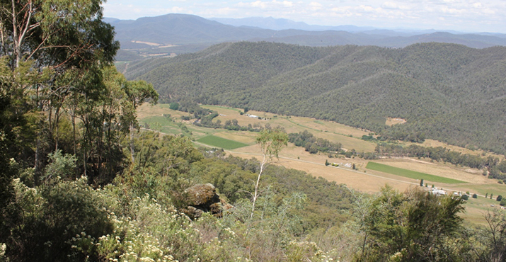 View From Powers Lookout