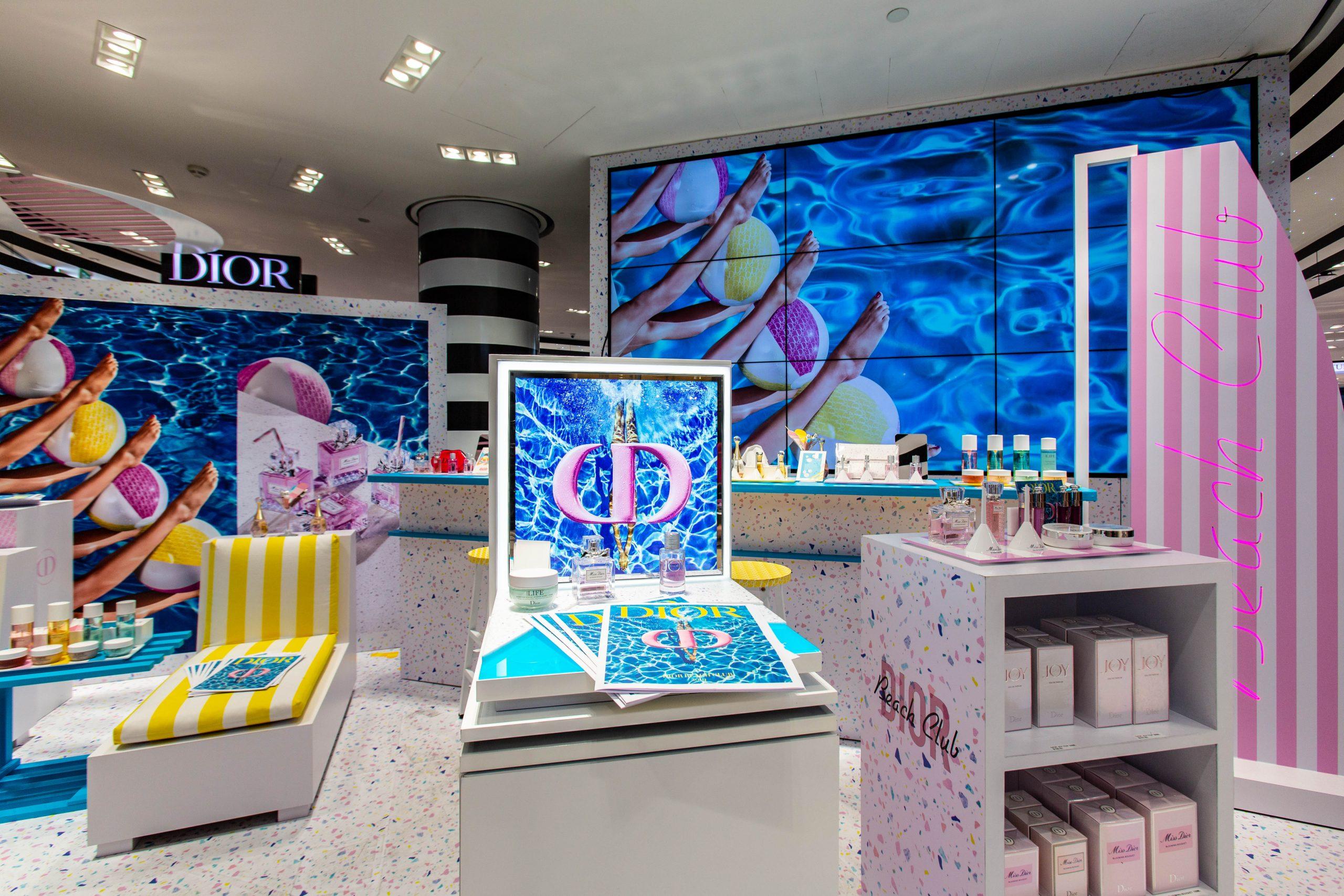 Dior Beach Club Brand Activation