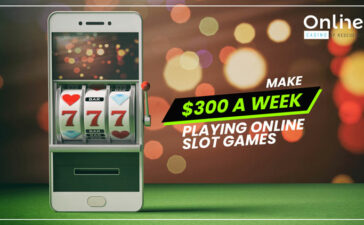Make 300 Dollars a Week Playing Online Slot Games Blog Featured Image