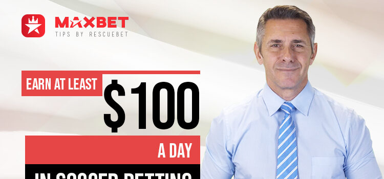 Earn At Least $100 a Day In Soccer Betting Blog Featured Image