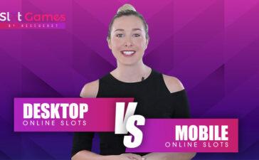 Desktop Online Slots vs Mobile Online Slots Blog Featured Image