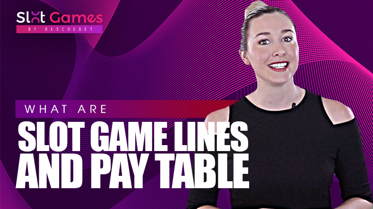What Are Slot Game Lines And Pay Table Blog Featured Image