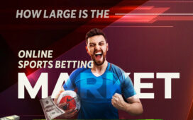 How large is the online sports betting market?