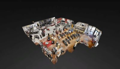 Recreation Vehicles and Showrooms 3D Model