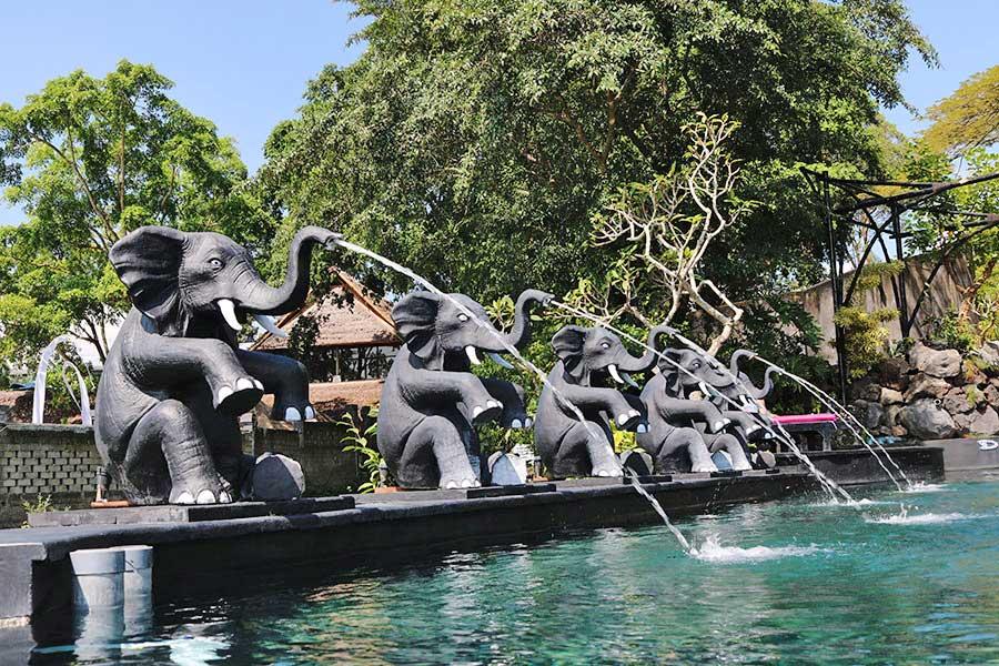 Hot Spring Water at Toya Devasya Bali Safest Driver Tour