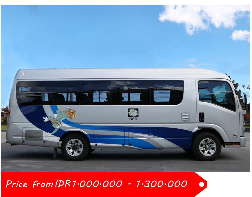 5. Isuzu Elf 19 Seaters