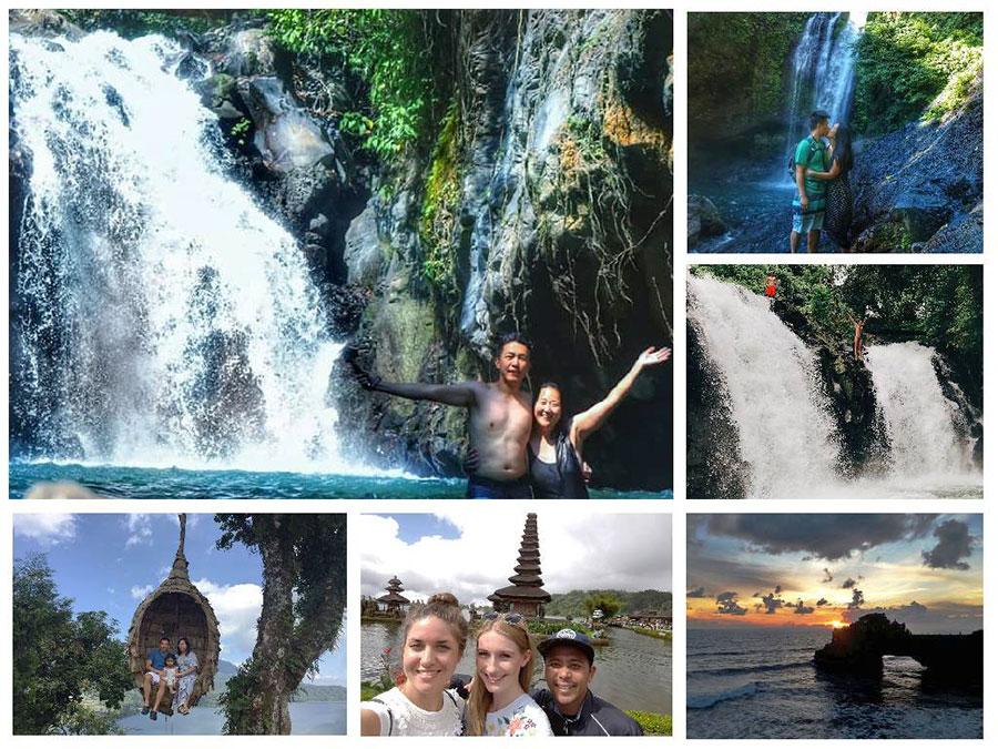 Aling - Aling Waterfall - Bedugul and Sunset Tanah Lot Tour