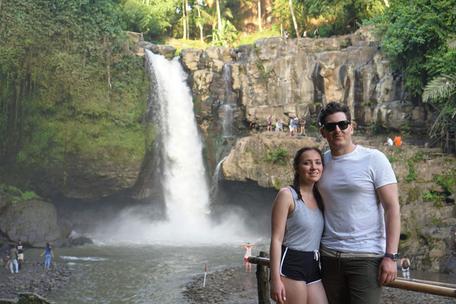 Bali Waterfall Tour Tagenungan Waterfall