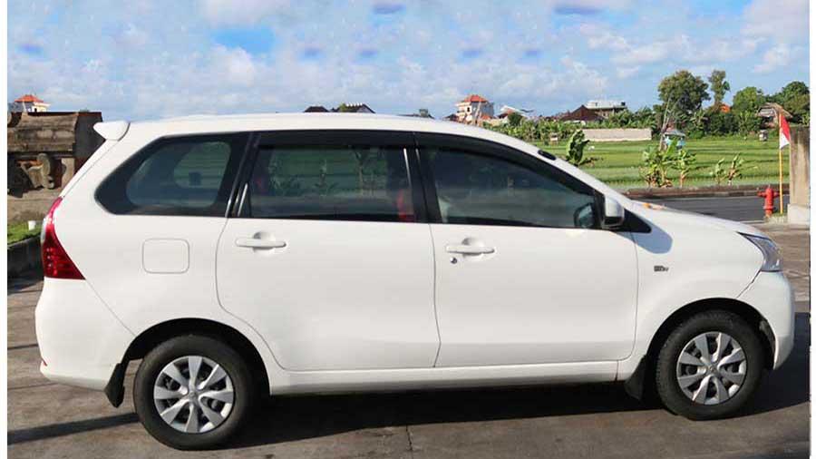 Bali Safest Driver Toyota Avanza