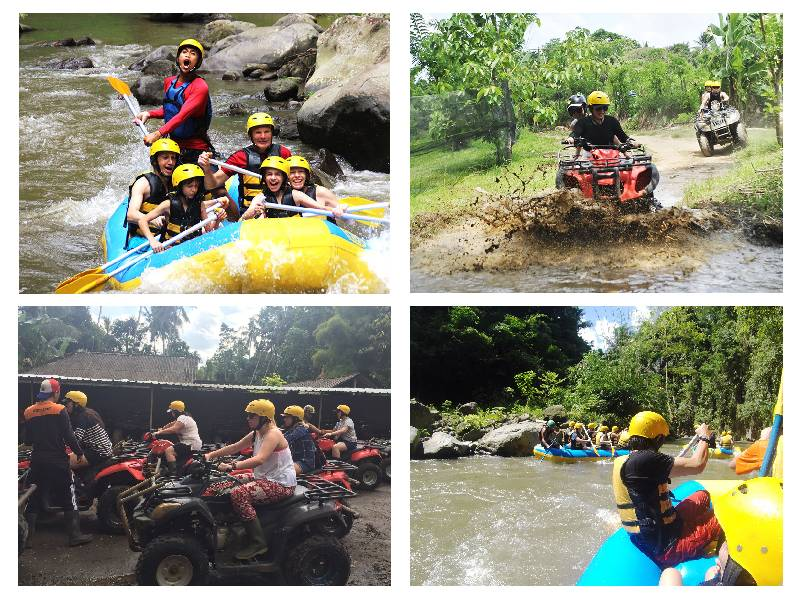 Bali Rafting And ATV Ride Tour