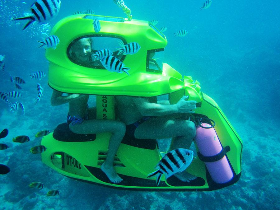 Bali Safest Driver Tour Underwater Scooter - Bali Driver Tours