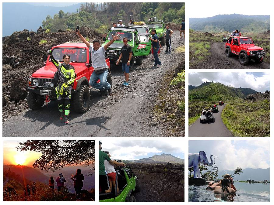 Bali Jeep Adventure Tour Package