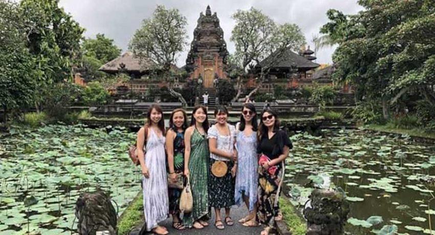 Bali A1 Driver Blog Saraswati Temple