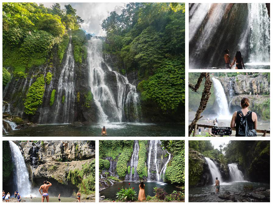 Two Days Bali Private Tour Sightseeing Waterfall