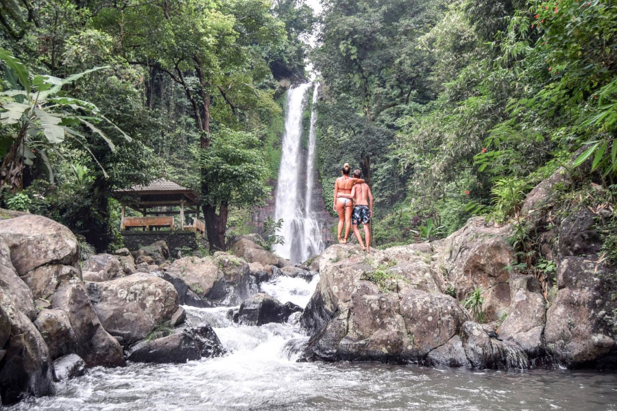 Bali Private Tour at Waterfalls
