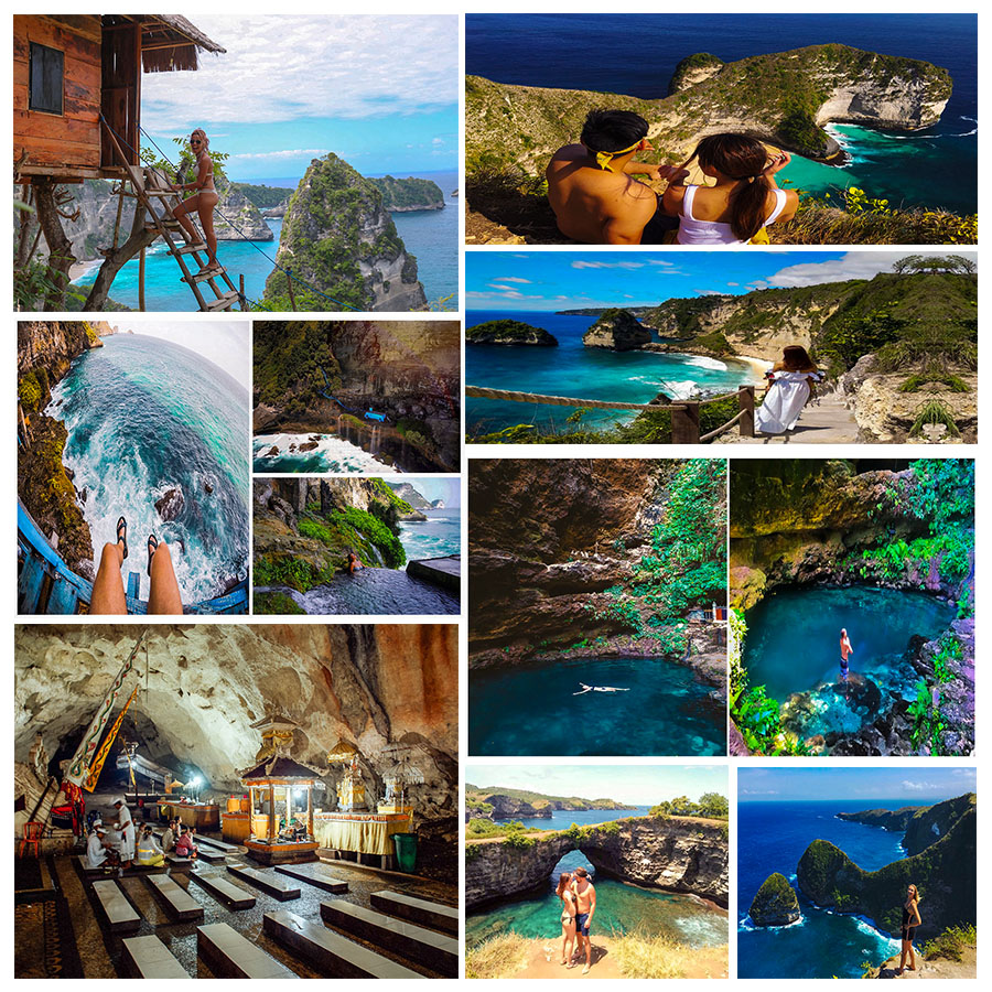 A Complete East and West Nusa Penida Tour