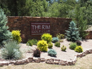 Rim Club Entry Monument