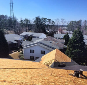 Apartment Building Roofing