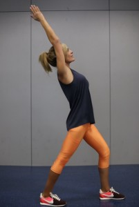"""A """"do-anywhere"""" great hip, upper back and calf stretch"""