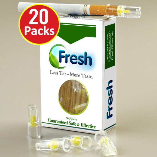 Fresh Cigarette Filters Cessation Product Compare Nic-Out 20 Packs Quit Smoking