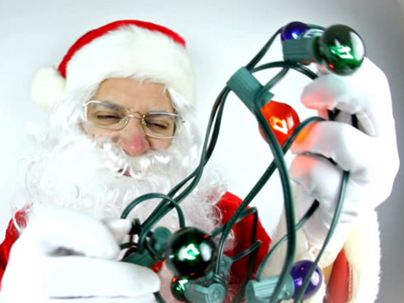 santa frustrated need help finding christmas gift