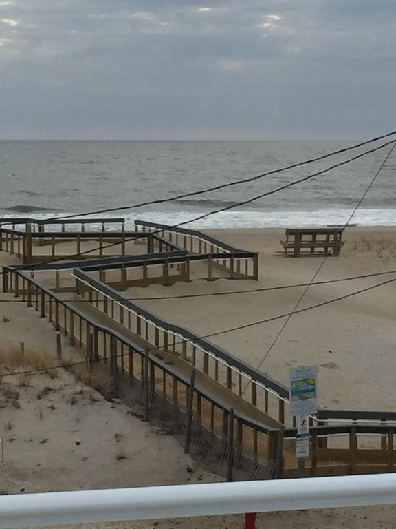 handicapped ramp, 85th street,Beach Haven Crest, Beach House Retreats on LBI, NJ