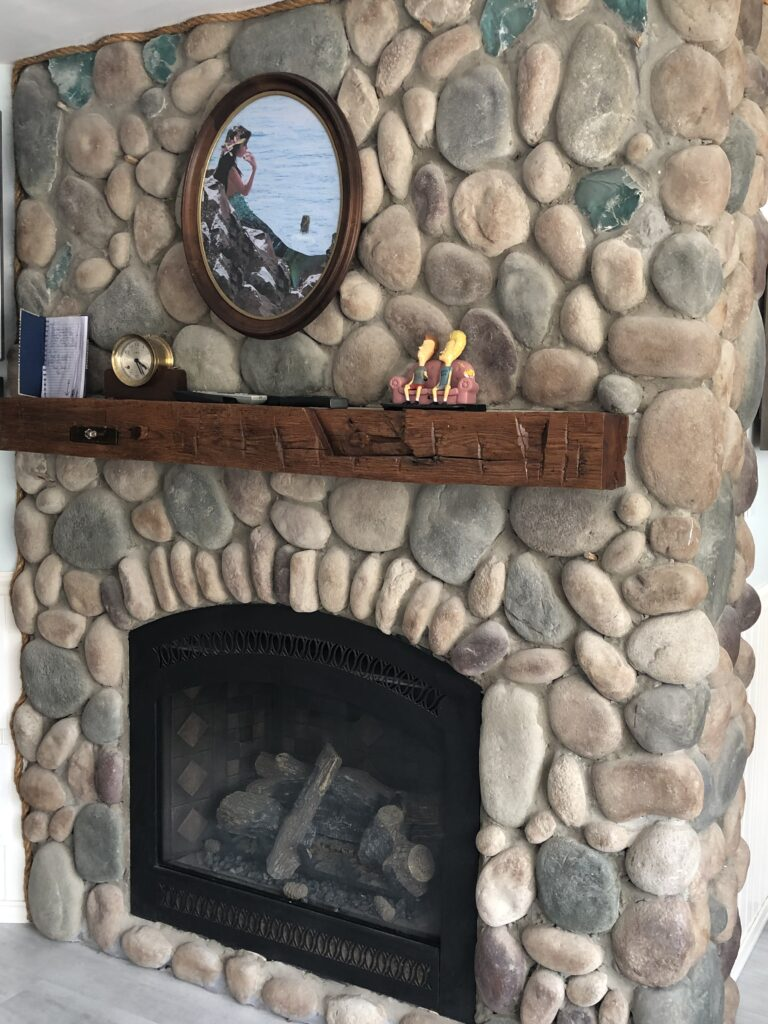 Beach House Retreats Fireplace