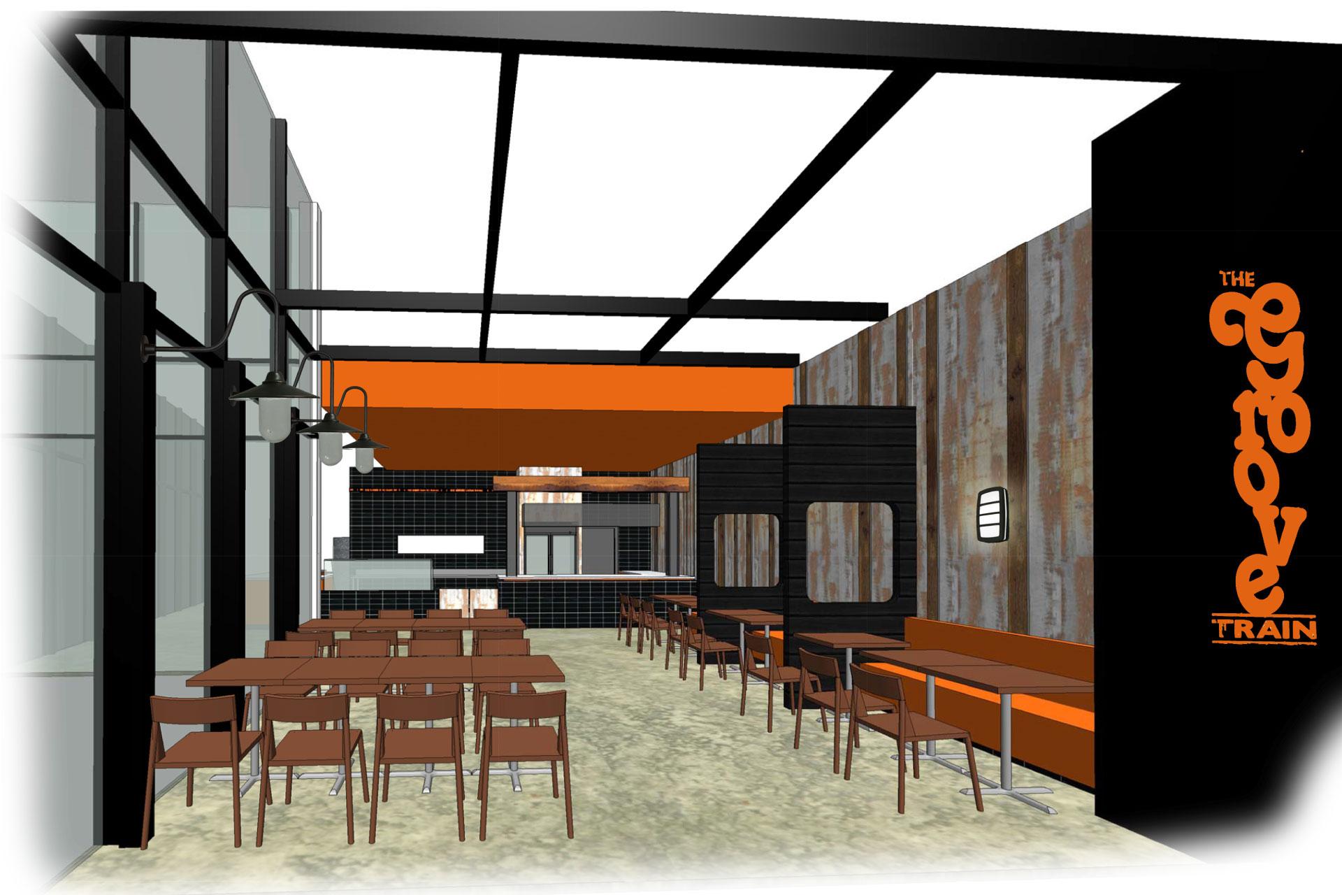 Corso Interior Architecture - Groove Train