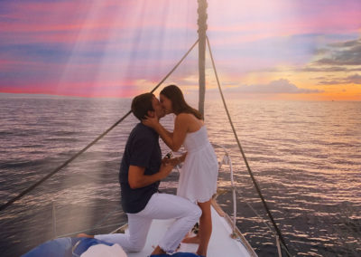 Shadowfax Maui sailing charters - romantic cruise