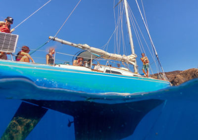 Shadowfax Maui sailing charters - our boat